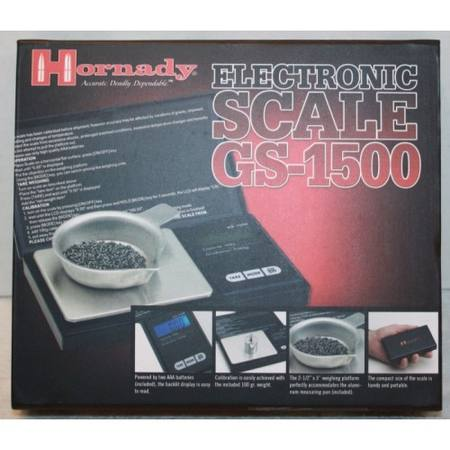 Hornady Scale Electronic 1500GS