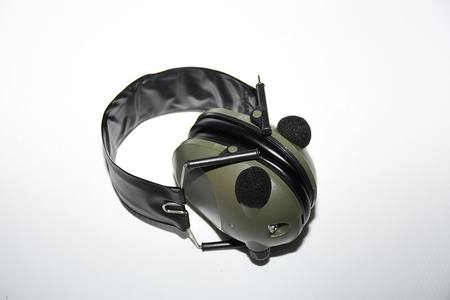 Buy SSL Ear Muffs Low Profile Electronic Green Low Adjustment in NZ.