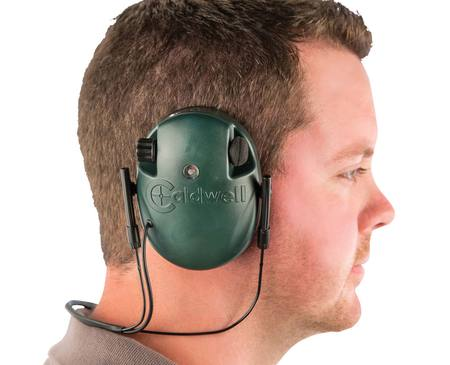 Caldwell E-MAX Low Profile Behind the Head Electronic Earmuffs (NRR 21dB) Green