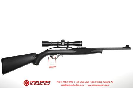 Mossberg 702 Plinkster Blued / Synthetic Semiauto 22lr With 4x32 Scope