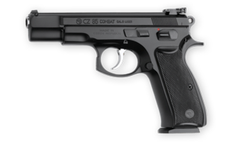 Buy CZ85 Combat 9MM Black 2x15RD in NZ.