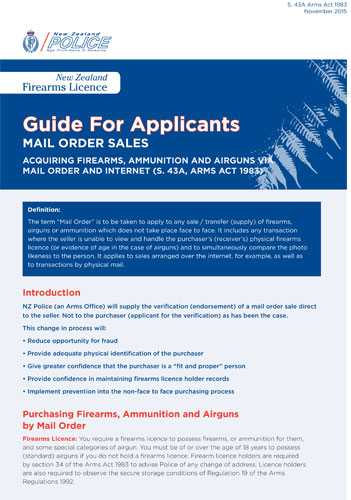 NZP- Guide-for- Applicants-for- Mail- Order- Sales- Plus- Form-17-11-15-1